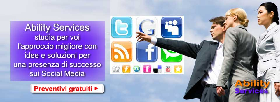 Ability Services per il Social Networking